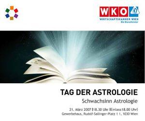 Tag der Astrologie 2007